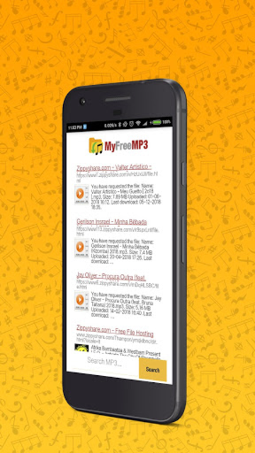 MyFreeMP3 - Search and Download Free MP3 screenshot 1