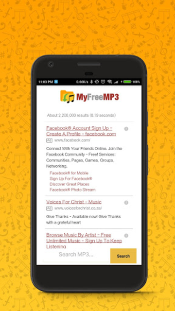 MyFreeMP3 - Search and Download Free MP3 screenshot 2