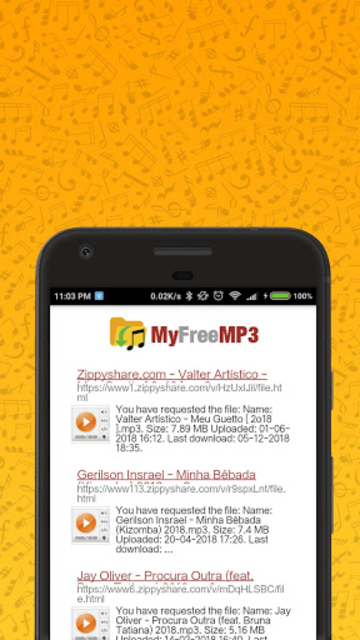 MyFreeMP3 - Search and Download Free MP3 screenshot 3