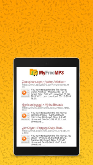 MyFreeMP3 - Search and Download Free MP3 screenshot 4