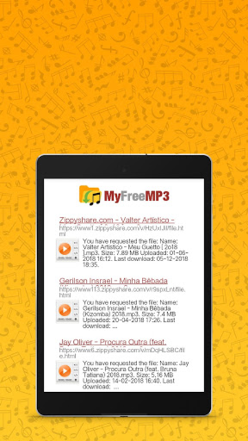 MyFreeMP3 - Search and Download Free MP3 screenshot 5
