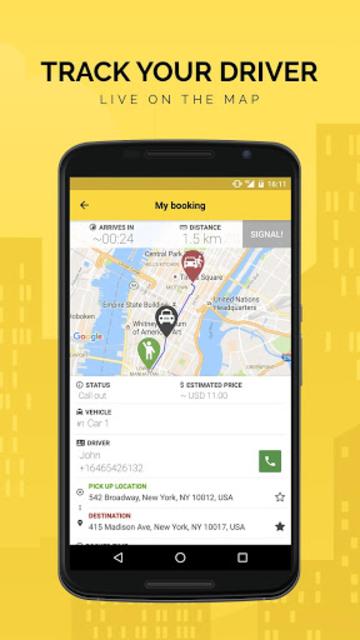 TaxiCaller screenshot 4
