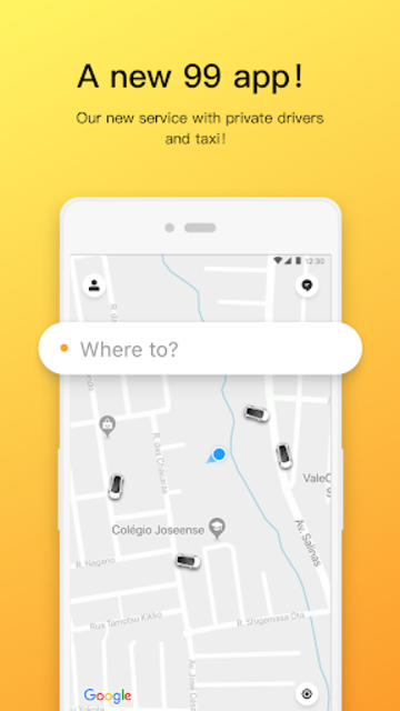 99 - Private Driver and Taxi screenshot 1
