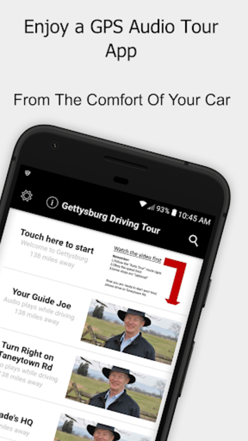 Gettysburg Driving Tour screenshot 1