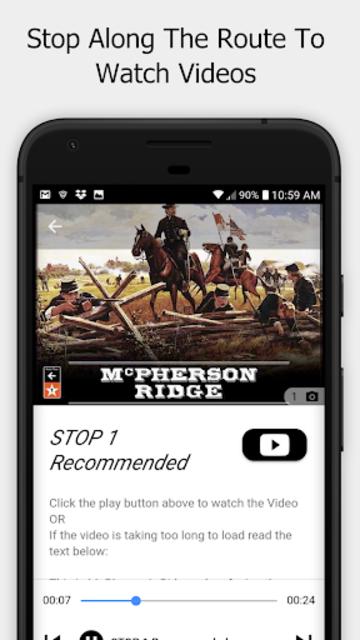 Gettysburg Driving Tour screenshot 2