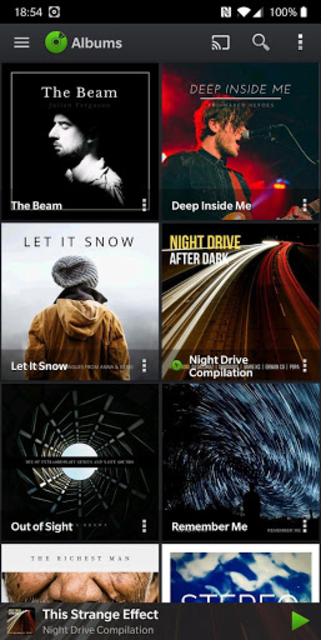 PlayerPro Music Player screenshot 1