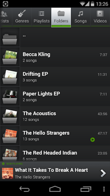 PlayerPro Music Player Legacy screenshot 5