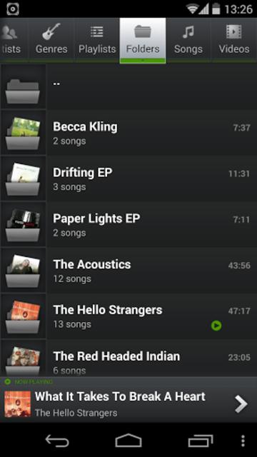 PlayerPro Music Player Legacy screenshot 4