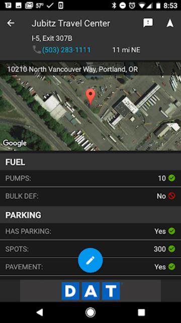 DAT Trucker - GPS + Truckloads screenshot 4