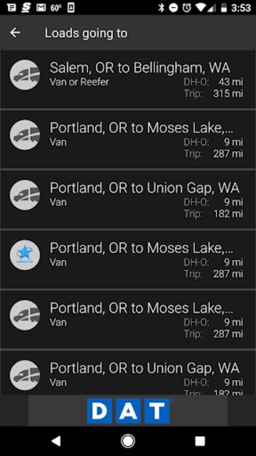 DAT Trucker - GPS + Truckloads screenshot 7