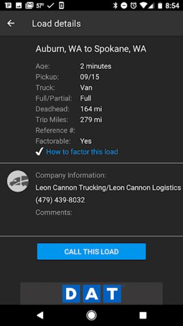 DAT Trucker - GPS + Truckloads screenshot 8