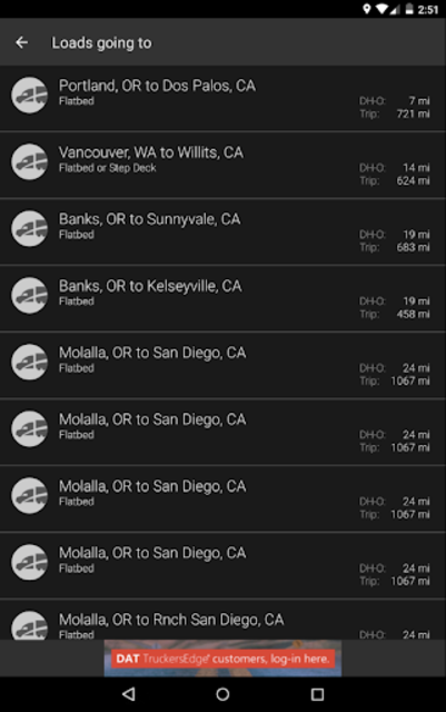 DAT Trucker - GPS + Truckloads screenshot 23