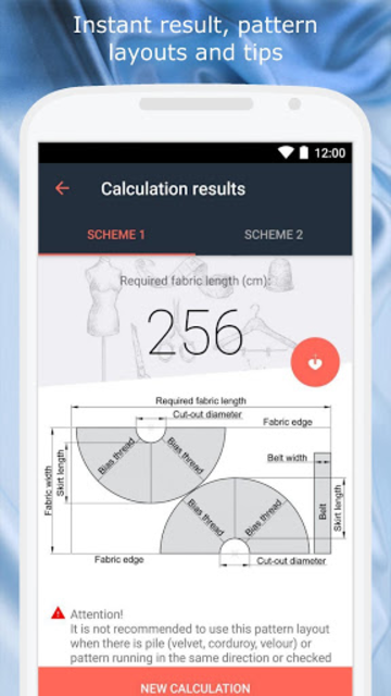 Fabrics screenshot 3