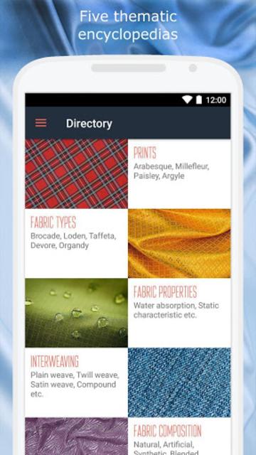 Fabrics screenshot 5