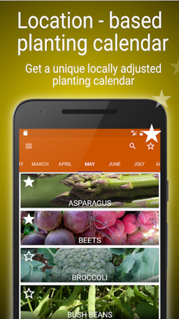 Planting calendar - vegetables screenshot 1
