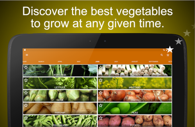 Planting calendar - vegetables screenshot 5