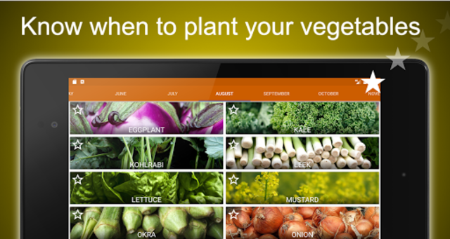 Planting calendar - vegetables screenshot 6
