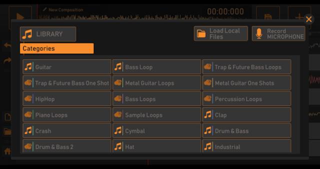Song Maker - Free Music Mixer screenshot 3
