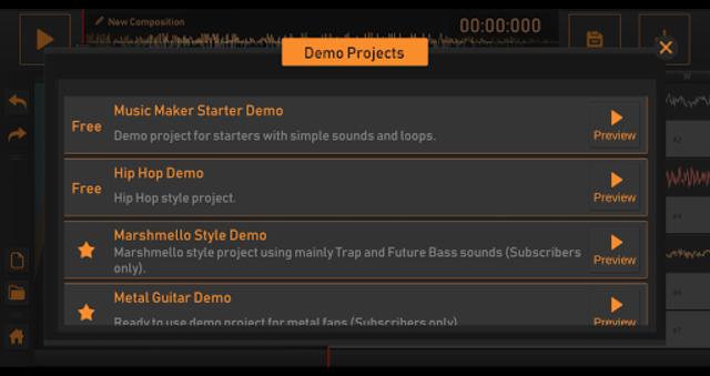 Song Maker - Free Music Mixer screenshot 5