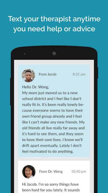 Teen Counseling screenshot 3