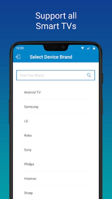 SURE - Smart Home and TV Universal Remote screenshot 1