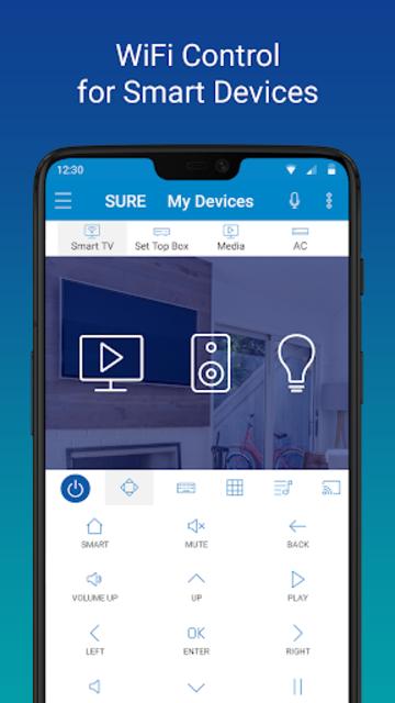 SURE - Smart Home and TV Universal Remote screenshot 2