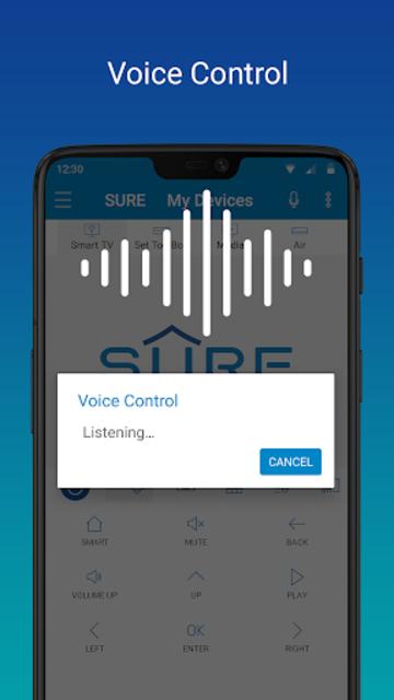 SURE - Smart Home and TV Universal Remote screenshot 3
