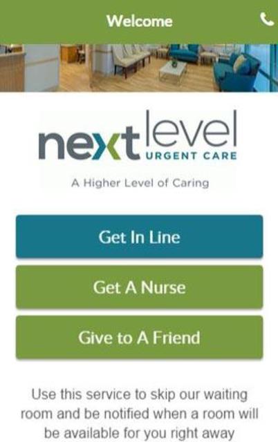 Next Level Urgent Care screenshot 1