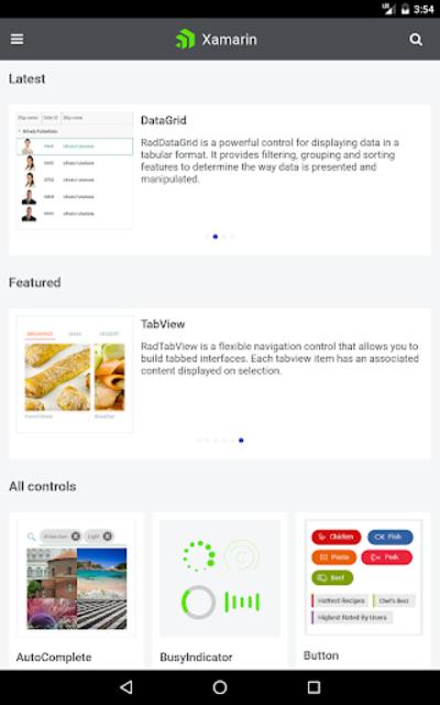 Telerik UI for Xamarin Samples screenshot 17