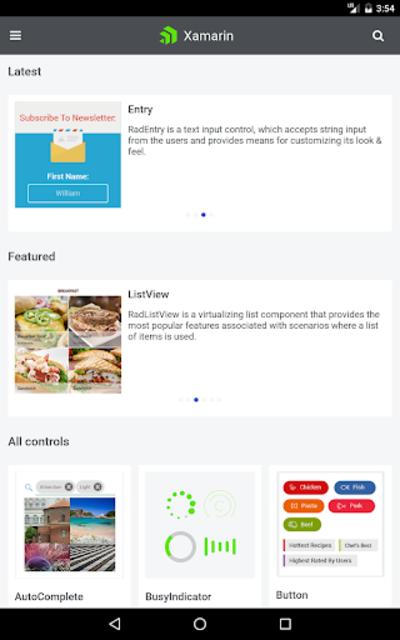 Telerik UI for Xamarin Samples screenshot 18