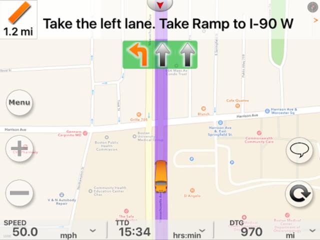 SmartBusRoute - Bus GPS Routing and Navigation screenshot 8