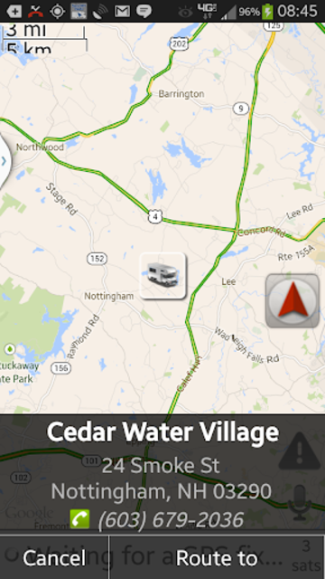 RV Route & GPS Navigation screenshot 7