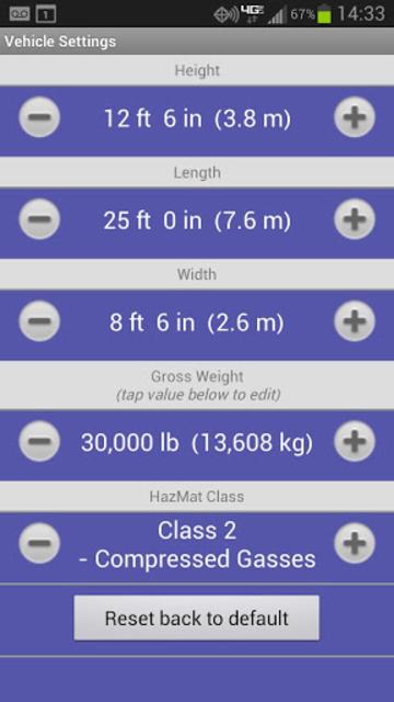 RV Route & GPS Navigation screenshot 1