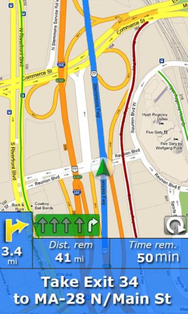 RV Route & GPS Navigation screenshot 2
