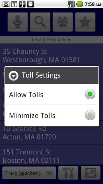 RV Route & GPS Navigation screenshot 4