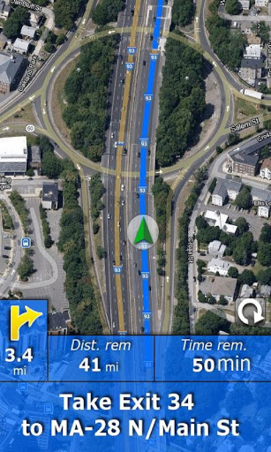 RV Route & GPS Navigation screenshot 5