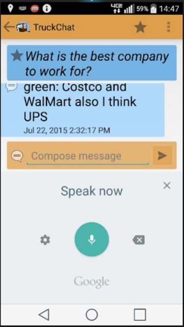 Truck Chat Anonymous, Private, News for Truckers screenshot 6