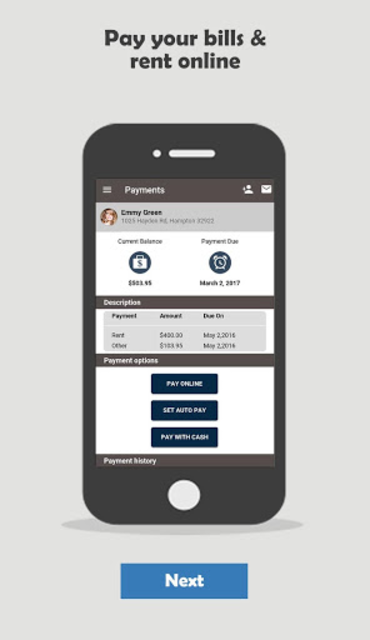 TENANT Portal - Chat with Neighbors, Pay rent screenshot 10