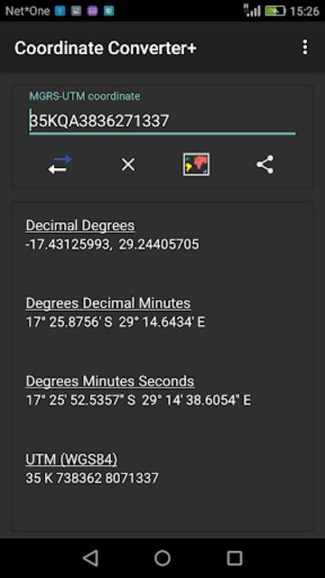 Coordinate Converter Plus screenshot 5