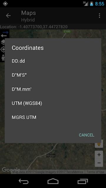 Coordinate Converter Plus screenshot 7