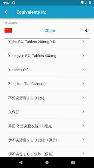 World Drugs Converter screenshot 4