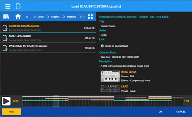 Caustic Guide screenshot 1