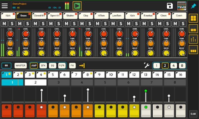 Lil Drum Machine screenshot 1
