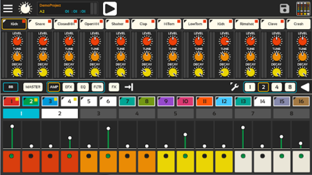 Lil Drum Machine screenshot 2