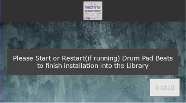 Drum Pad Beats - Techno ExpKit 2 screenshot 3
