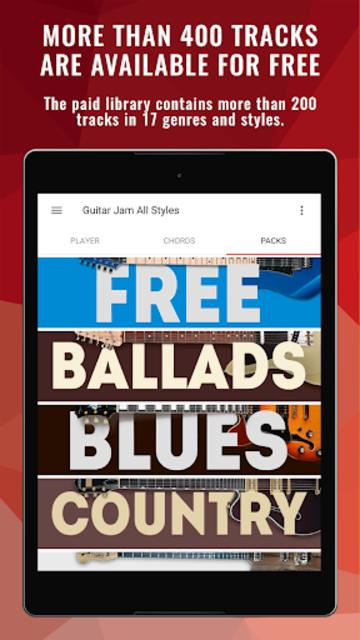 Backing Tracks Guitar Jam Ultimate Music Playback screenshot 15
