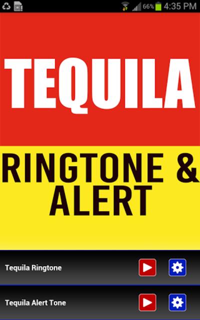 Tequila Ringtone and Alert screenshot 1