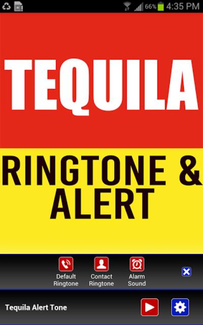 Tequila Ringtone and Alert screenshot 2