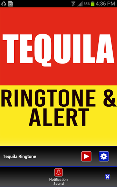Tequila Ringtone and Alert screenshot 3