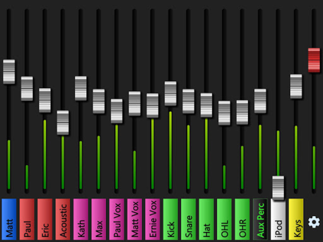 X Air Monitor Mixer screenshot 4